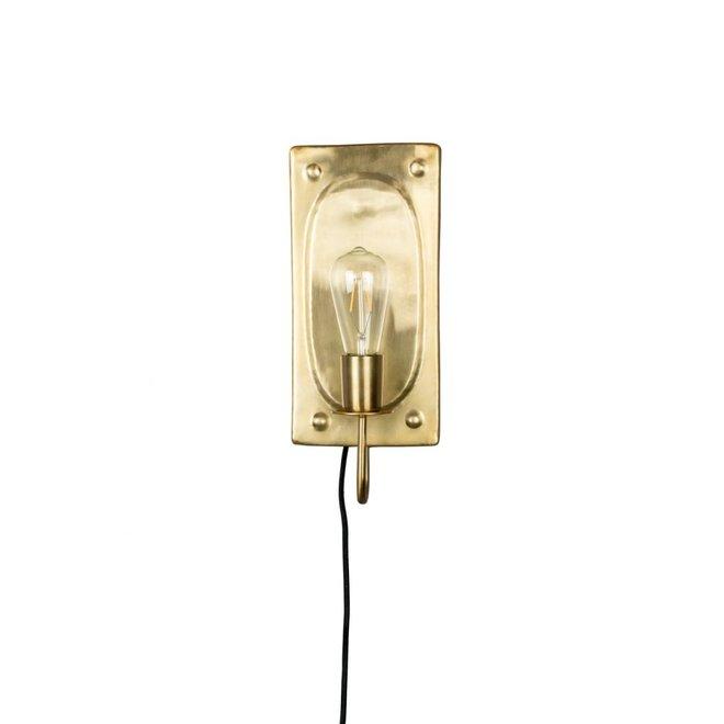 Wandlamp Brody Brass