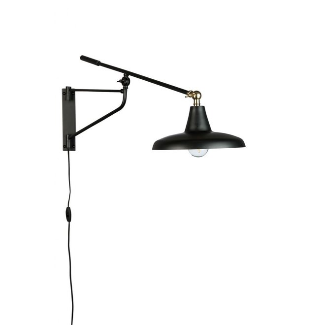 Wandlamp Hector - Zwart