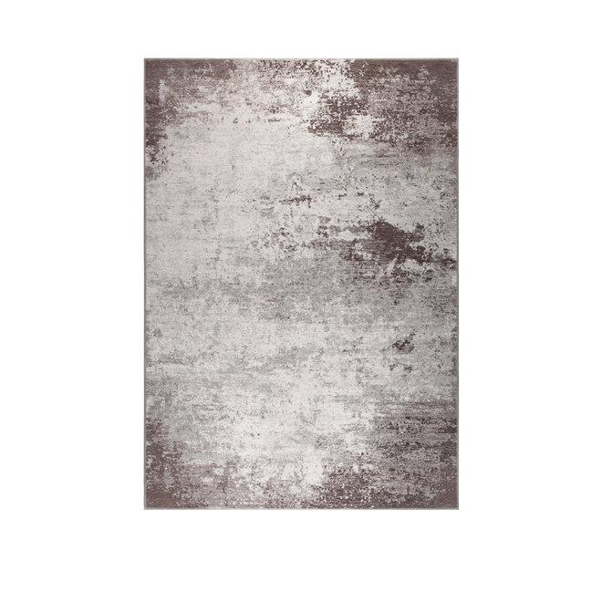 Vloerkleed Caruso 200x300 Distressed - Bruin