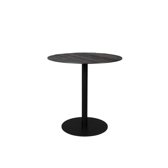 Bistrotafel Braza Round - Zwart