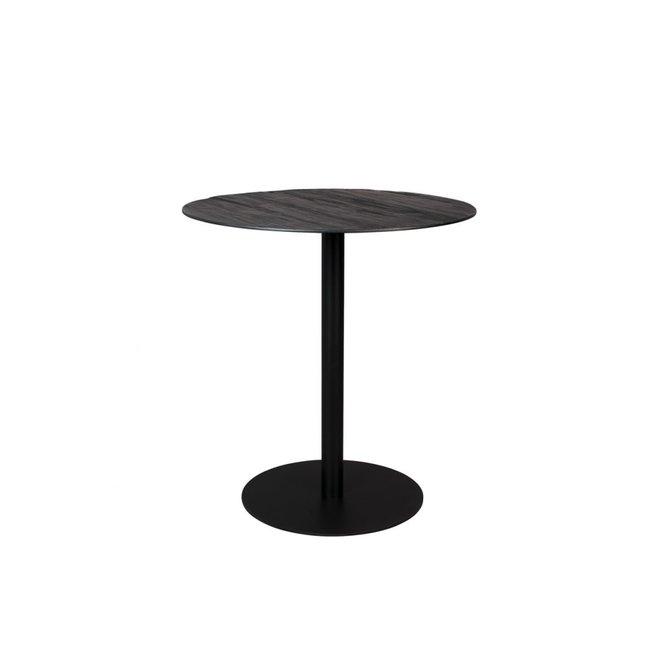 Counter Eettafel Braza Round - Zwart