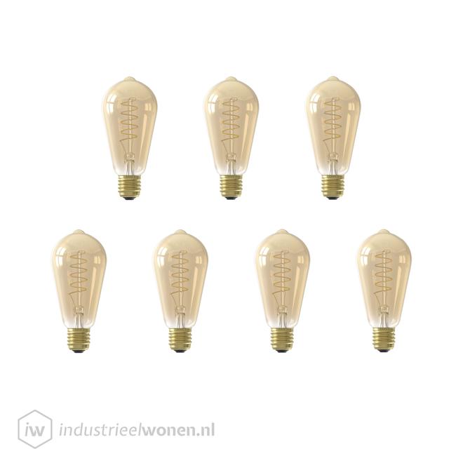 7x E27 LED Lichtbron Dimbaar