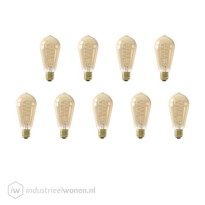 9x E27 LED Lichtbron Dimbaar
