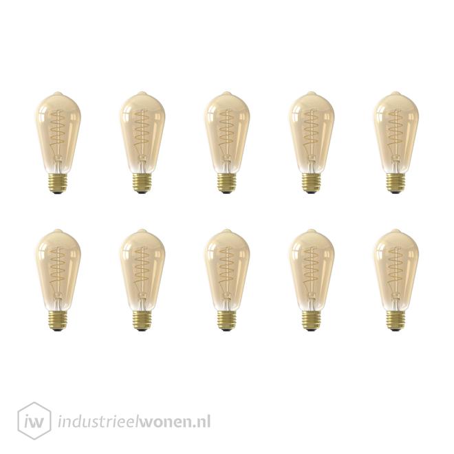 10x E27 LED Lichtbron Dimbaar