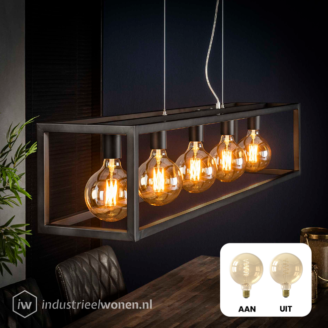 6x LED Lichtbol XL - Ø125mm - Dimbaar