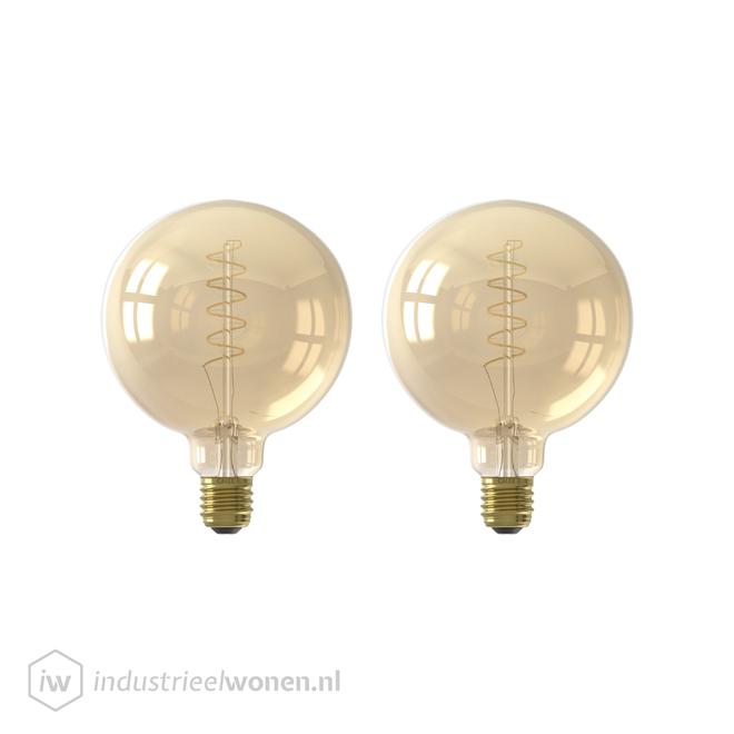 Alaska 2x LED Lichtbol - Ø95mm - Dimbaar