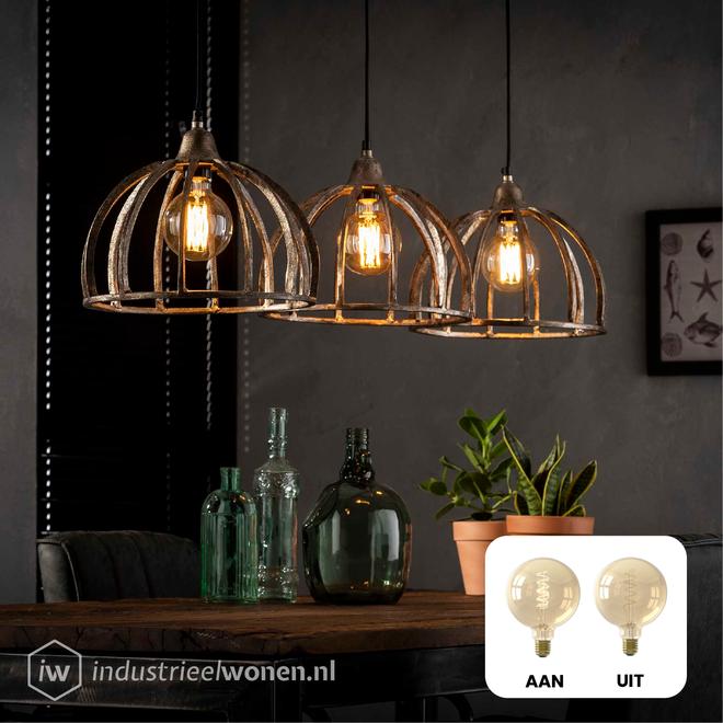 8x LED Lichtbol - Ø95mm - Dimbaar