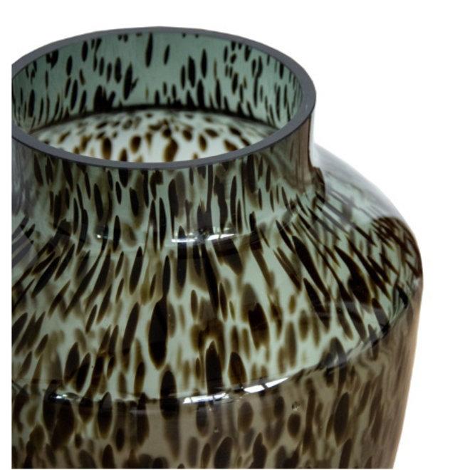 Hudson grey cheetah Ø22,5 x H35 cm