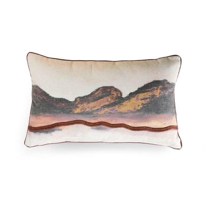 Double sided cushion landscape