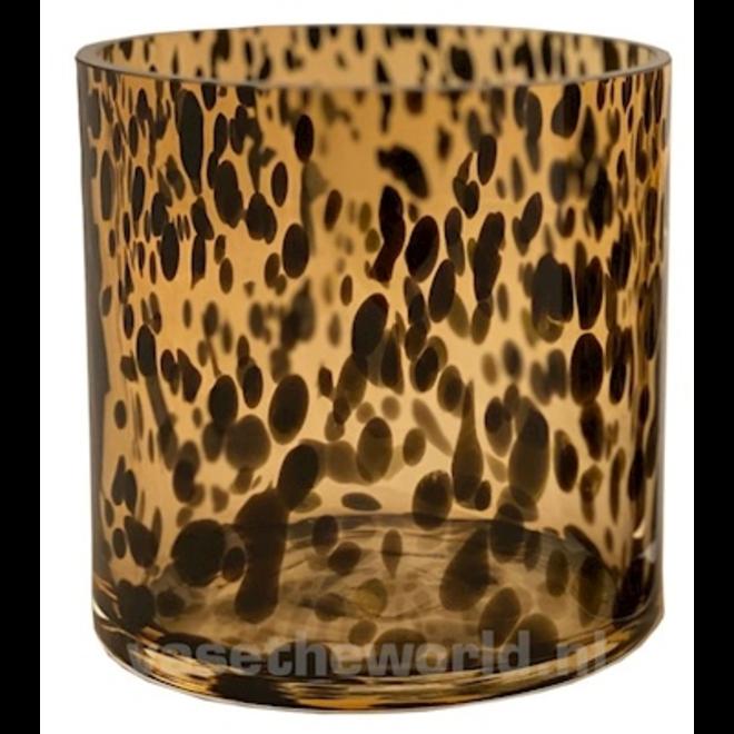 Celtic cheetah Ø12 x H12 cm