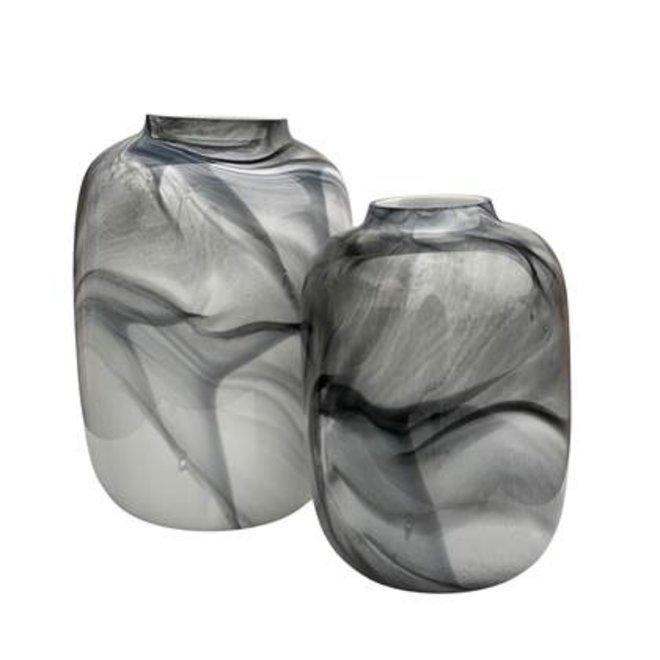Artic medium marble Ø25 x H35 cm