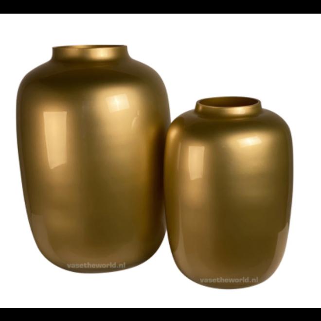 Artic medium gold Ø25 x H35 cm
