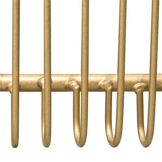 Bijzettafel Rocco goud 70cm