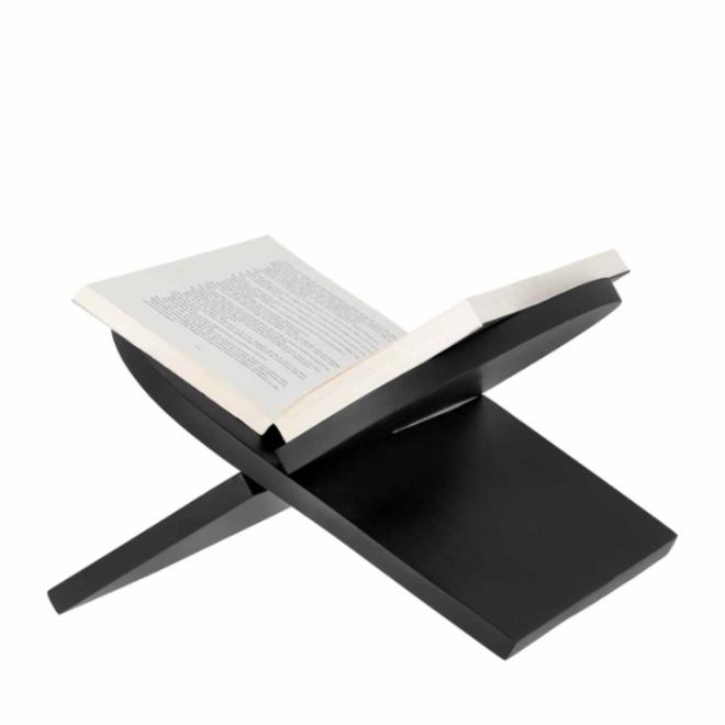 Boekenstandaard Sam - zwart 33cm