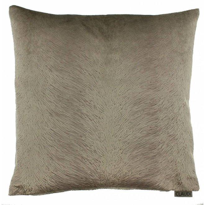 Claudi kussen - Perla brown 45x45 cm