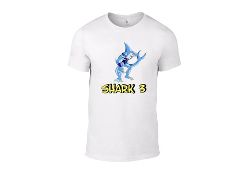 Barium Shark 3 T-Shirt (White)