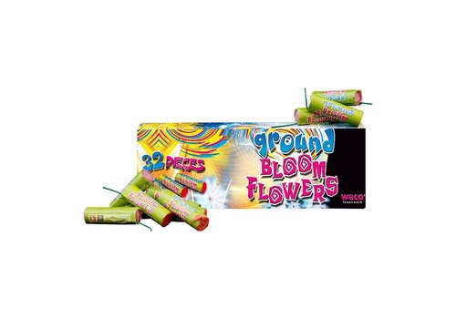 Weco Feuerwerk Ground Bloom Flower (40st)