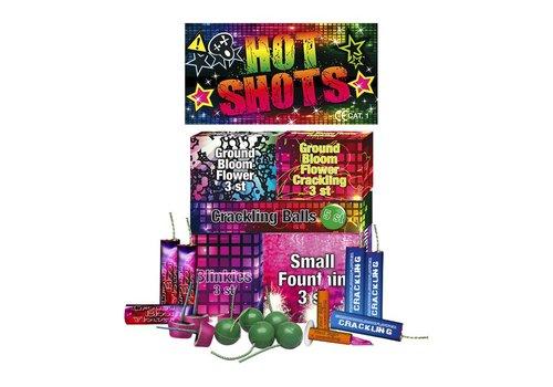 Weco Feuerwerk Hot Shots (Pakket)