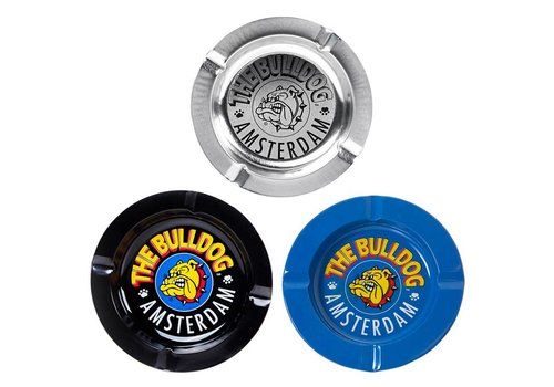The Bulldog Amsterdam The Bulldog Metal Ashtray