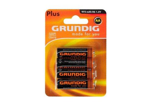 Grunde Plus AA Batterijen (4st)