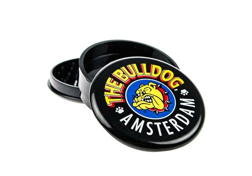 The Bulldog Amsterdam Acrylic Grinder | 3 Part The Bulldog Transparant