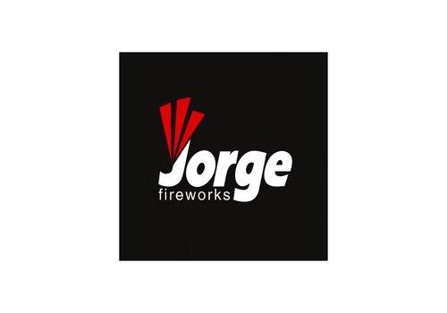 Jorge Fireworks Logo Zwart