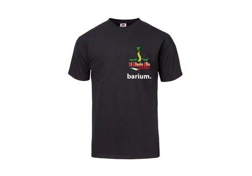 Di Blasio Elio Di Blasio Elio x Barium Zwart T-Shirt