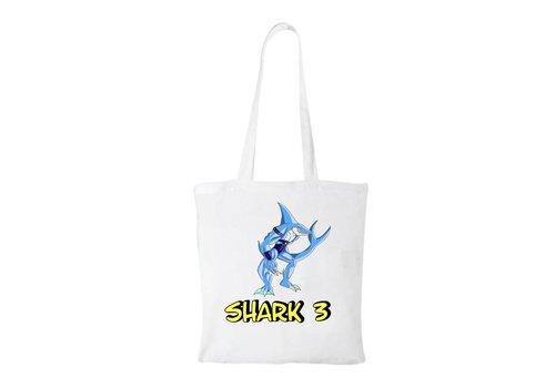 Shark 3  Shark 3 Cotton Bag