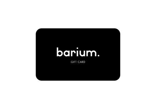 Barium Digitale Cadeaukaart