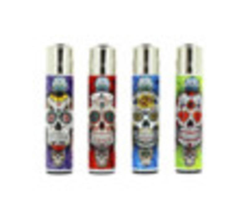Clipper Mexican Skull Bright Aansteker