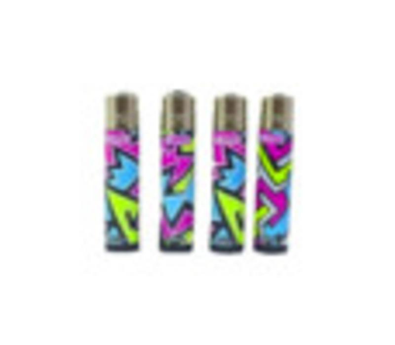 Clipper Fluo Zigzag Lighter