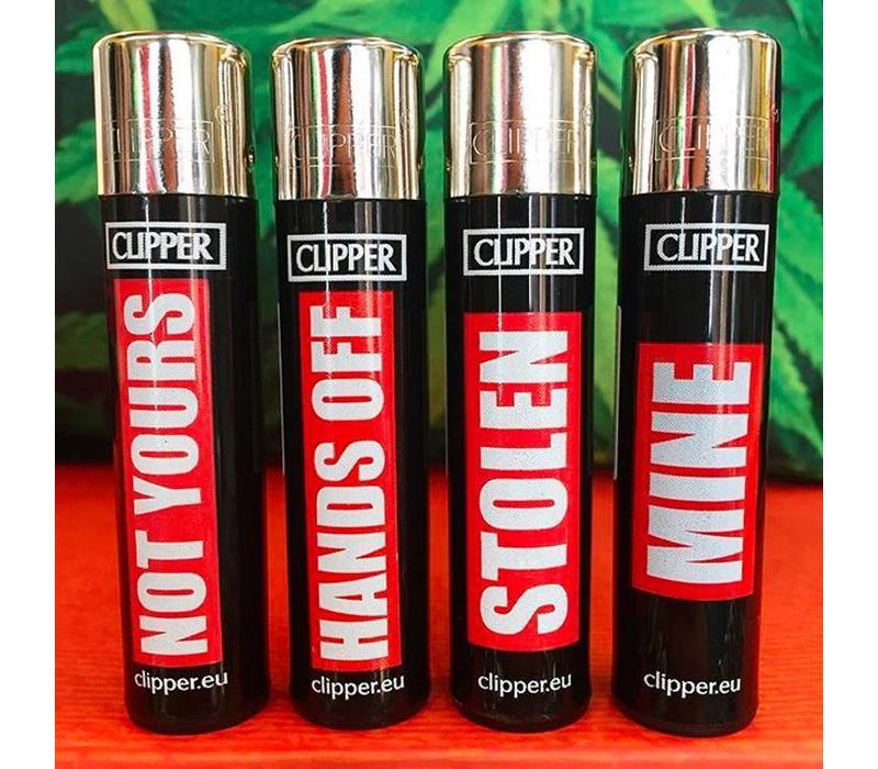 Clipper Don't Touch My Lighter Aansteker