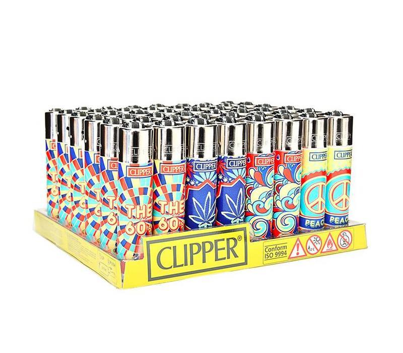 Clipper The 60s Print Aansteker