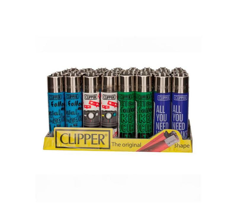Clipper Social Media Aansteker