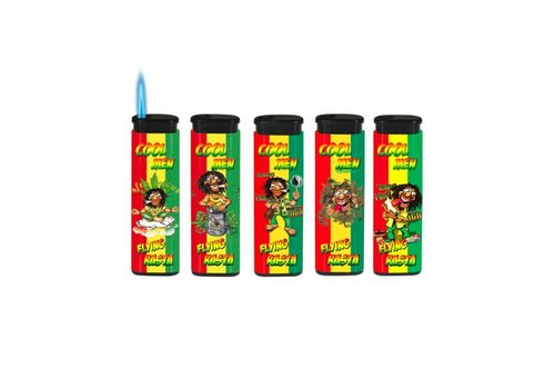 Belflam Belflam Flying Rasta Jet Torch - Set of 5