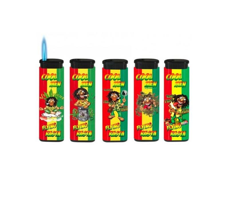 BelFlam Flying Rasta Jet Torch - Set van 5
