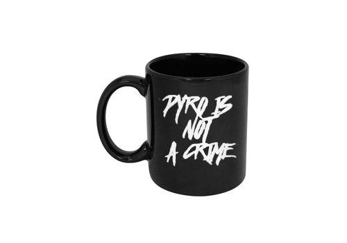Barium Pyro Is Not A Crime Mug (Black)