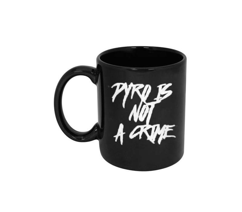 Pyro Is Not A Crime Mug (Black)