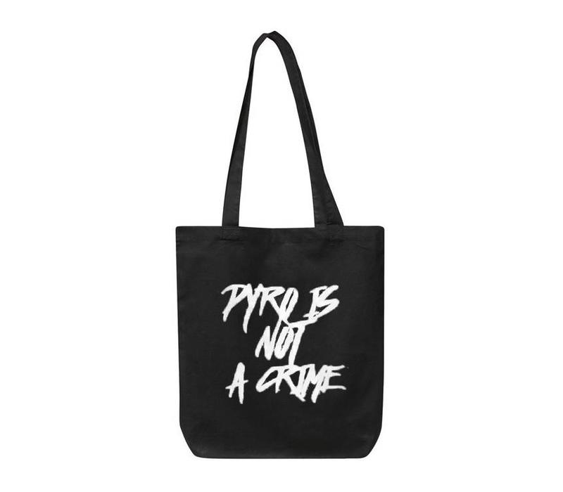 Pyro Is Not A Crime Cotton Bag