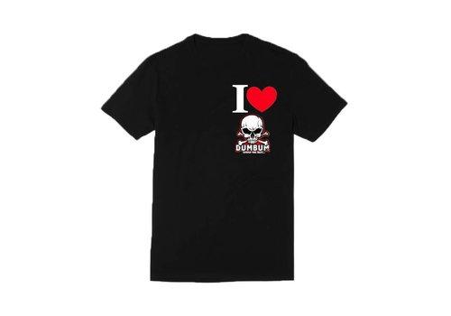 Dum Bum I Love Dum Bum T-Shirt (Zwart)