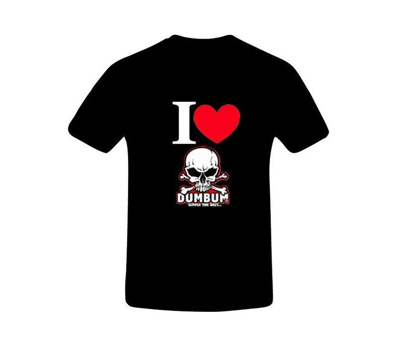 I Love Dum Bum T-Shirt (Black)
