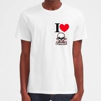 I Love Dum Bum T-Shirt (White)