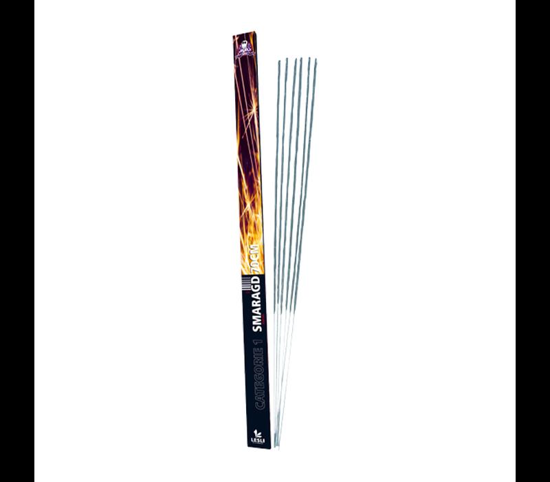 XXL Smaragd Sterretjes 70cm (6st)