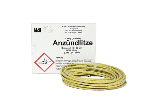 Anzündlitze Fuse Yellow (8M/26.25ft)