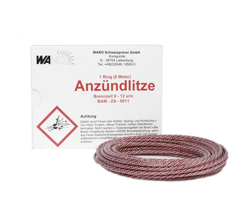 Anzündlitze Fuse Red (8M/26.25ft)