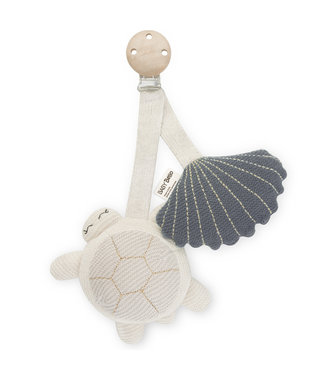 Baby Bello Wagenhanger // Tily the turtle - blauw