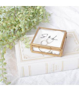 World of Mina Luxe showbox glas // Mini - Wedding