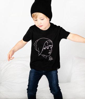 World of Mina Kids T-shirt // Line art