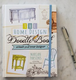 Miss Mustard Seeds Milk Paint MMSMP - The Home Design Doodle Book
