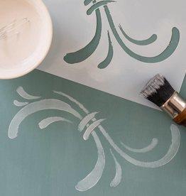 Miss Mustard Seeds Milk Paint MMSMP - Stencil - Susan